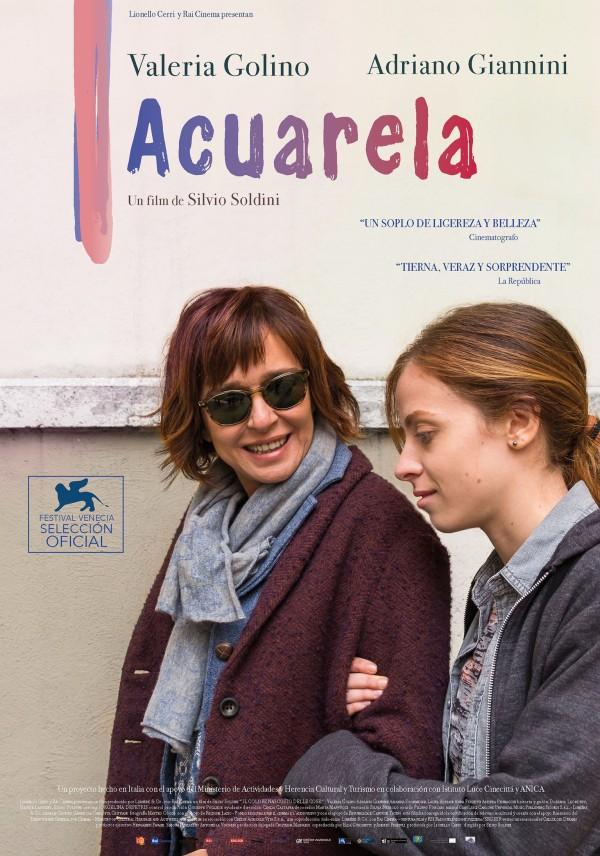Imatge del cartell de la pel·lícula Acuarela