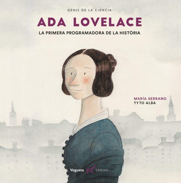 Portada del llibre infantil Ada Lovelace. La primera programadora de la història