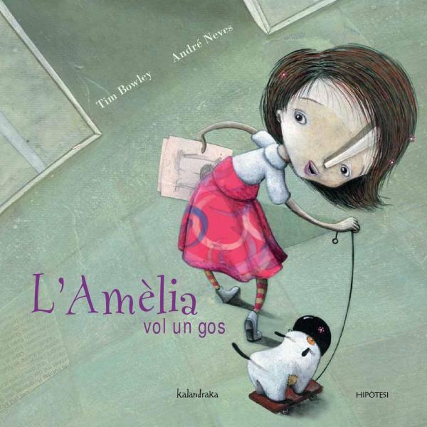 Portada del llibre infantil L'Amèlia vol un gos