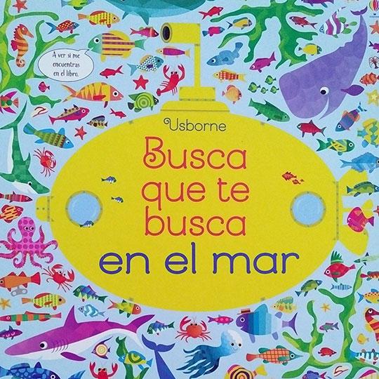 Portada del llibre infantil Busca que te busca en el mar