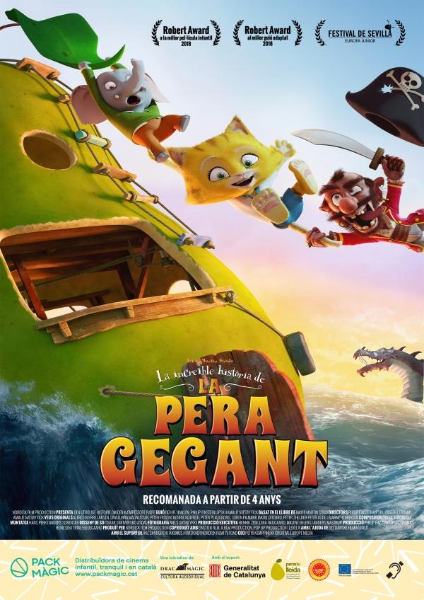 Imatge del cartell de la pel·lícula La increïble història de la pera gegant