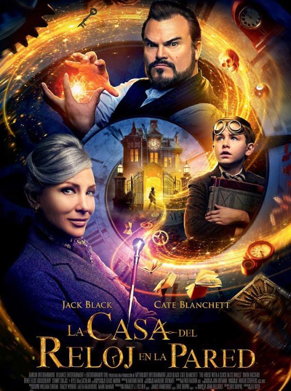 Imatge del cartell de la pel·lícula La casa del reloj en la pared