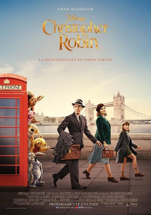 Imatge del cartell de la pel·lícula Christopher Robin