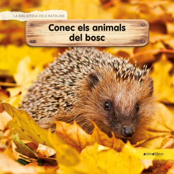 Portada del llibre infantil Conec els animals del bosc
