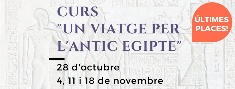 """Imatge del curs """"Un viatge per l'antic Egipte"""""""