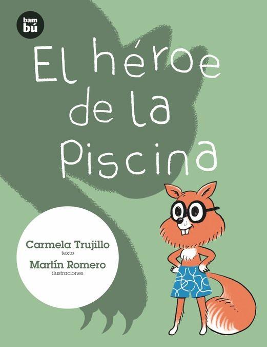 Portada del llibre infantil El héroe de la piscina