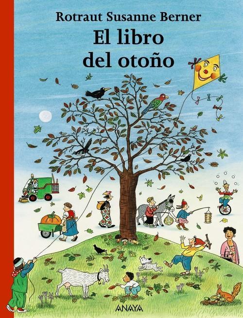 Portada del llibre infantil El libro del otoño