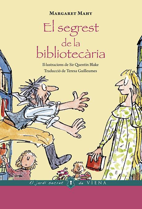 Portada del llibre infantil El segrest de la bibliotecària