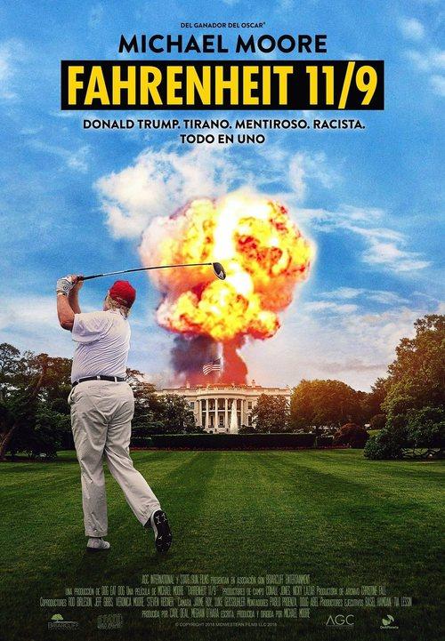 Imatge del cartell de la pel·lícula Fahrenheit 11/9