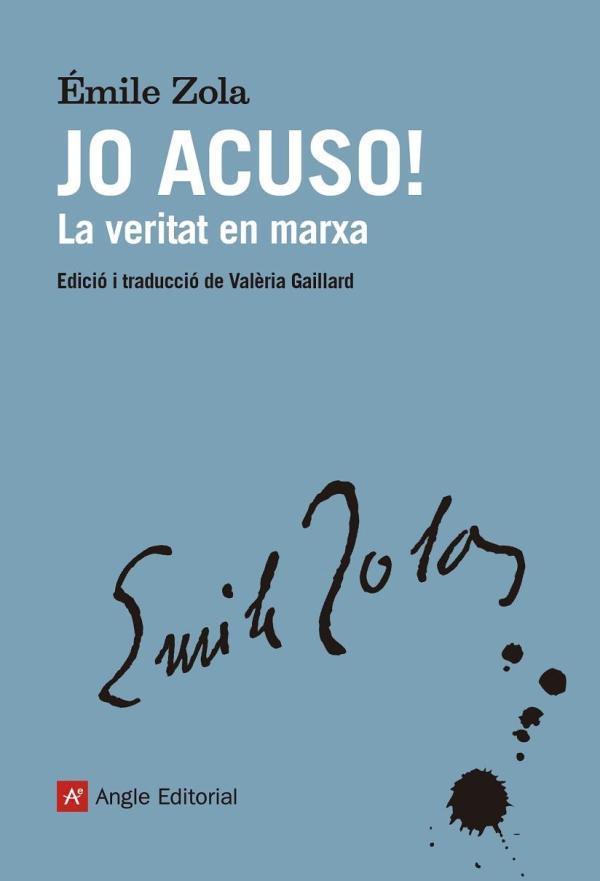 Portada del llibre Jo acuso! d'Émile Zola