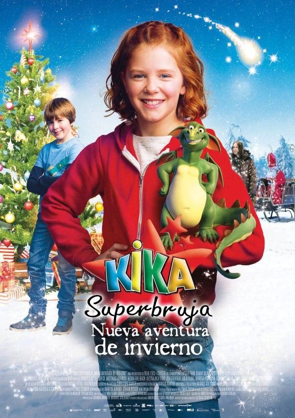 Imatge del cartell de la pel·lícula Kika Superbruja. Nueva aventura de invierno