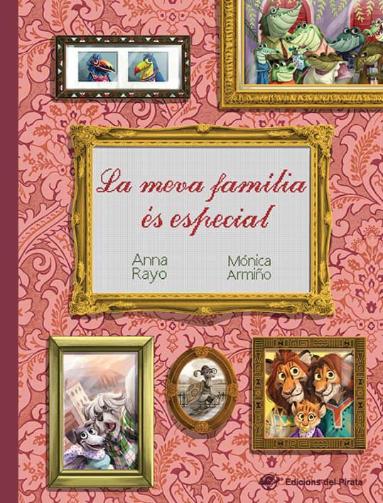 Portada del llibre infantil La meva família és especial