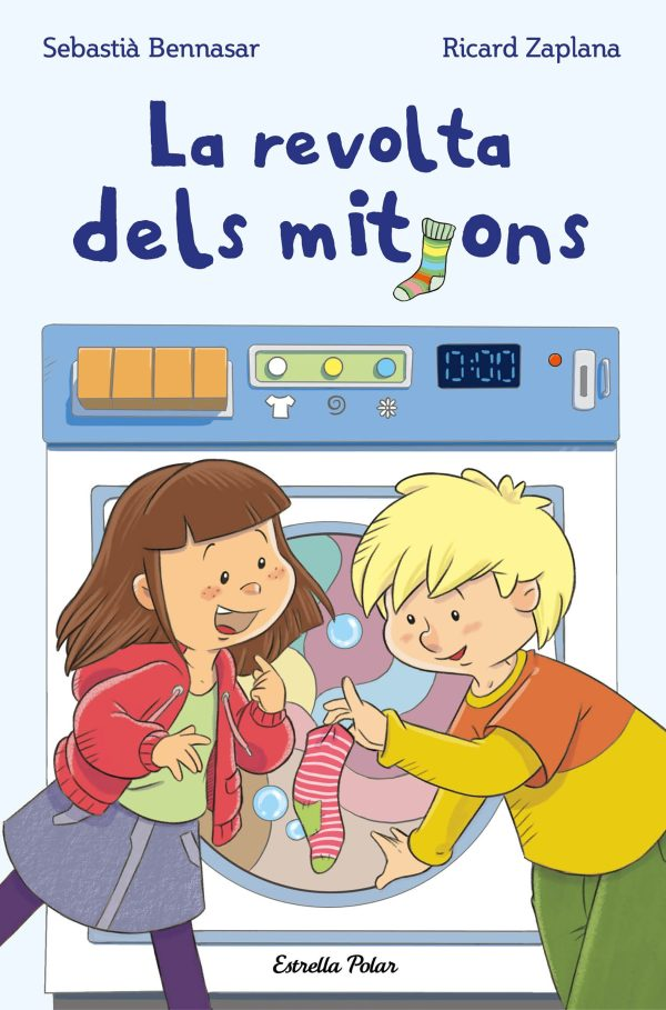Portada del llibre infantil La revolta dels mitjons