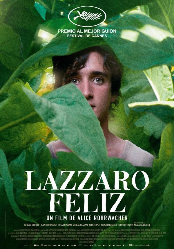 Imatge del cartell de la pel·lícula Lazzaro feliz
