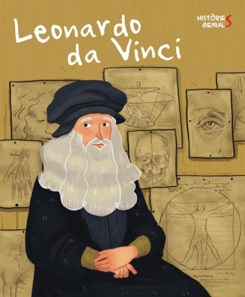 Portada del llibre infantil Leronardo da Vinci