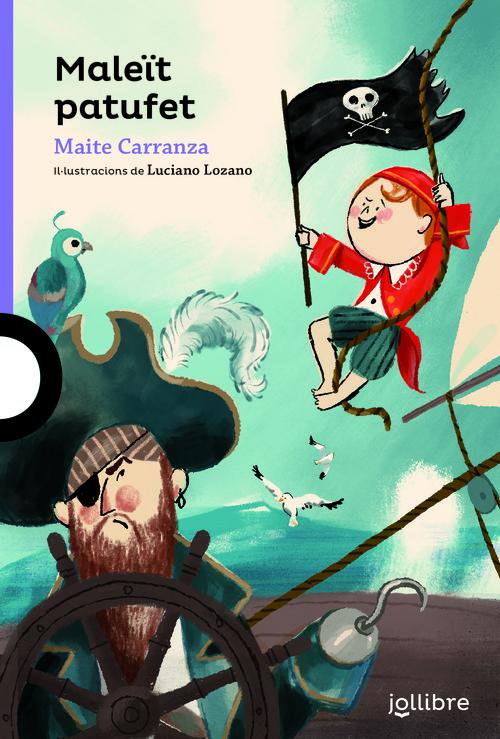Portada del llibre infantil Maleït patufet de Maite Carranza