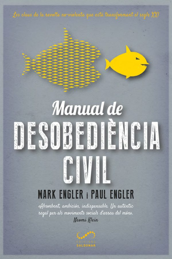 Portada del llibre Manual de desobediència civil de Mark i Paul Engler
