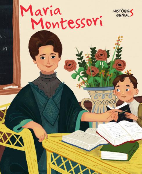 Portada del llibre infantil Maria Montessori
