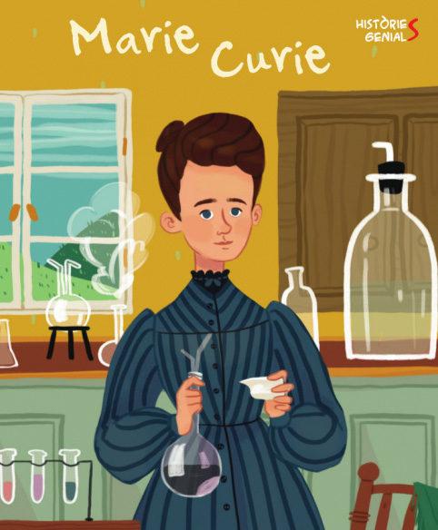 Portada del llibre infantil Marie Curie