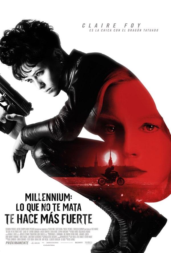 Imatge del cartell de la pel·lícula Millennium: Lo que no te mata te hace más fuerte