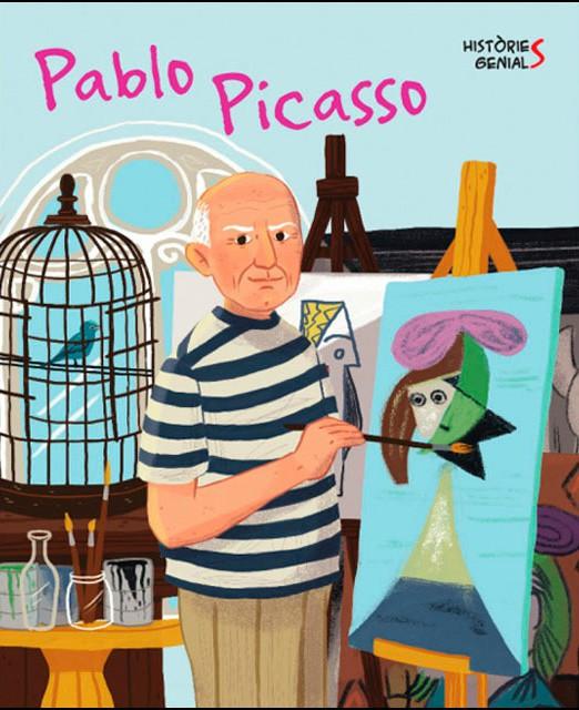 Portada del llibre infantil Pablo Picasso