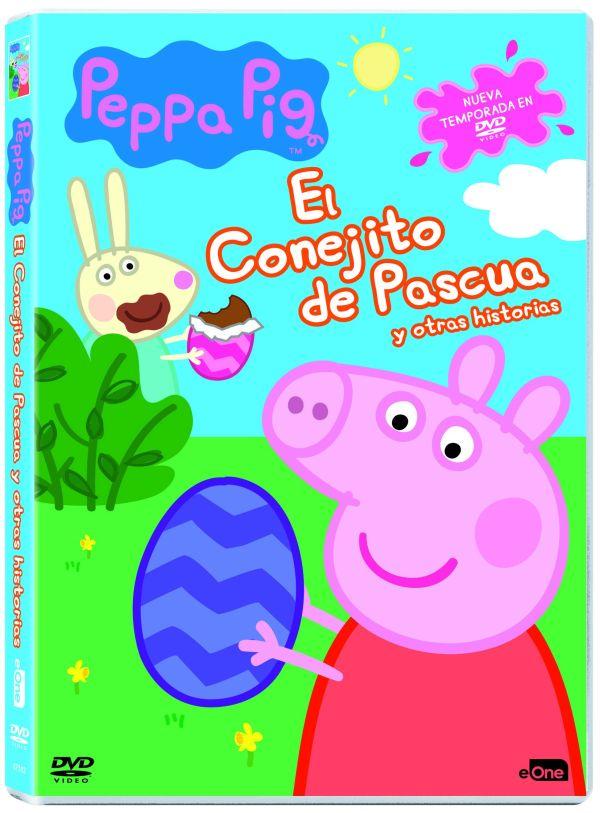 Imatge del cartell de la pel·lícula Peppa Pig. El conejito de Pascua y otras historias