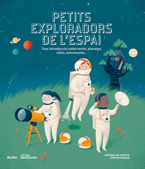 Portada del llibre infantil Petits exploradors de l'espai