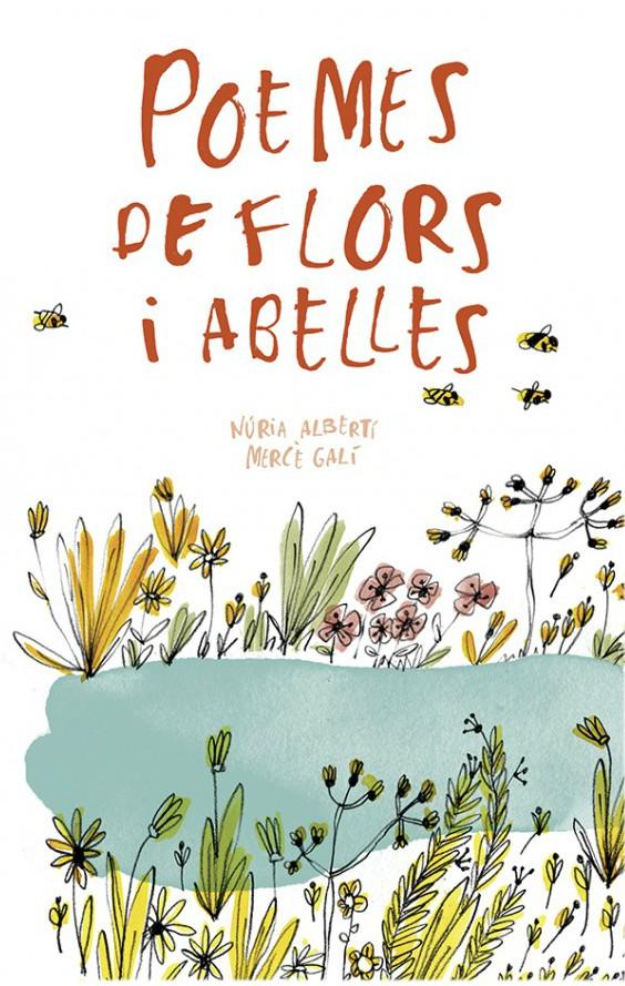 Portada del llibre infantil Poemes de flors i abelles