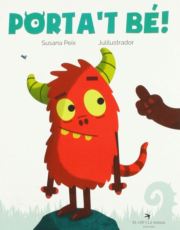 Portada del llibre infantil Porta't bé!