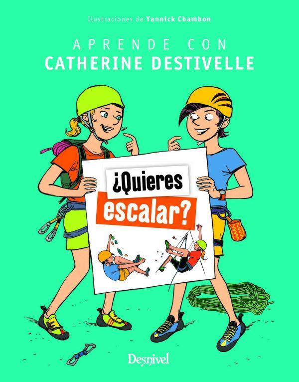 Portada del llibre infantil ¿Quieres escalar?