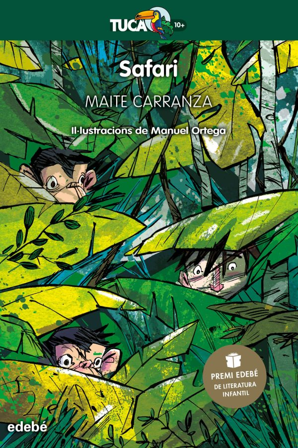Portada del llibre infantil Safari de Maite Carranza