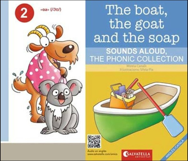 Portada del llibre infantil The boat, the goat and the soap