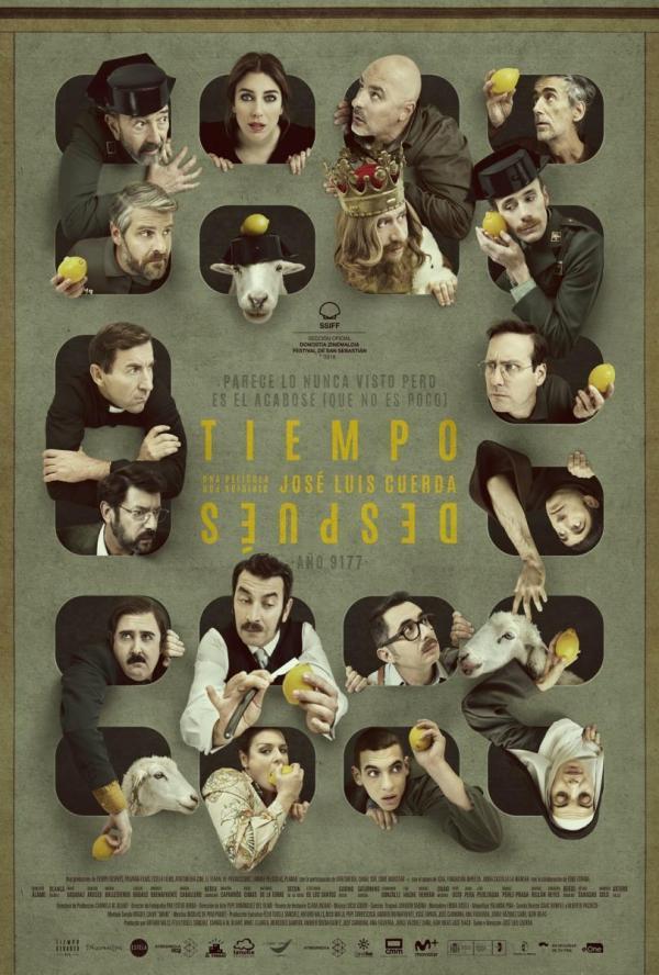 Imatge del cartell de la pel·lícula Tiempo después