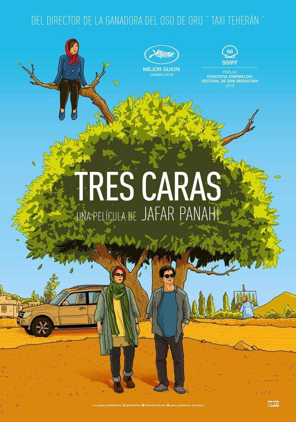 Imatge del cartell de la pel·lícula Tres caras