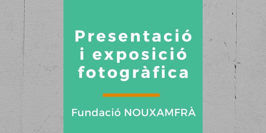 Imatge de l'activitat presentació i exposició a càrrec de Fundació NOUXAMFRÀ