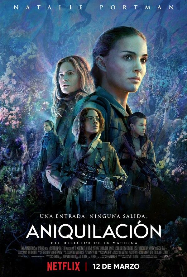 Imatge del cartell de la pel·lícula Aniquilación