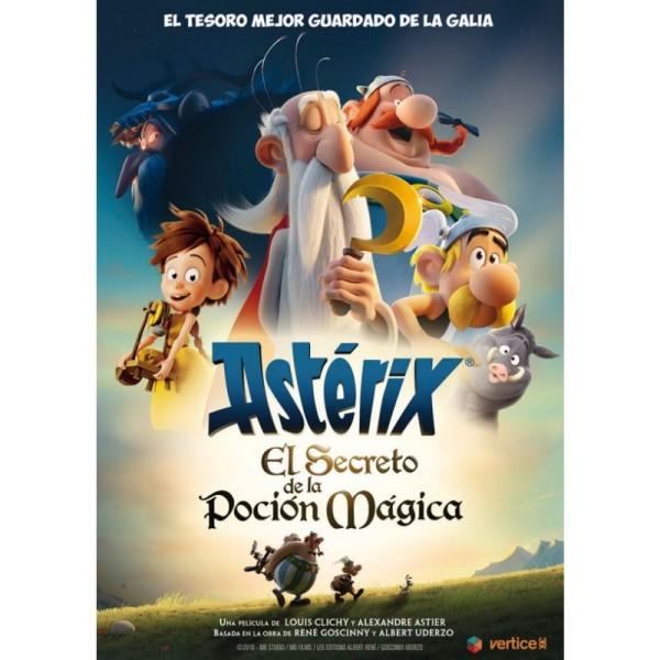 Imatge del cartell de la pel·lícula Astérix. El secreto de la poción mágica