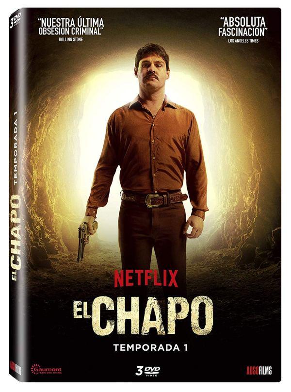 Imatge del cartell de la sèrie El Chapo