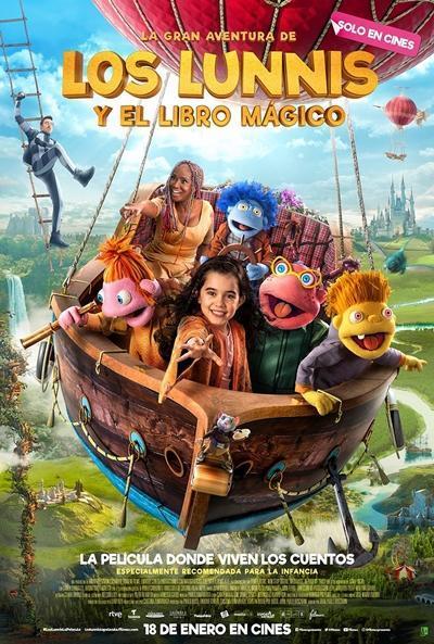 Imatge del cartell de la pel·lícula La gran aventura de los Lunnis y el libro mágico