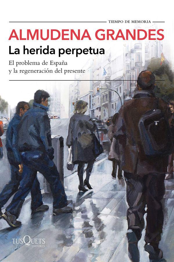 Imatge de la portada del llibre La herida perpetua