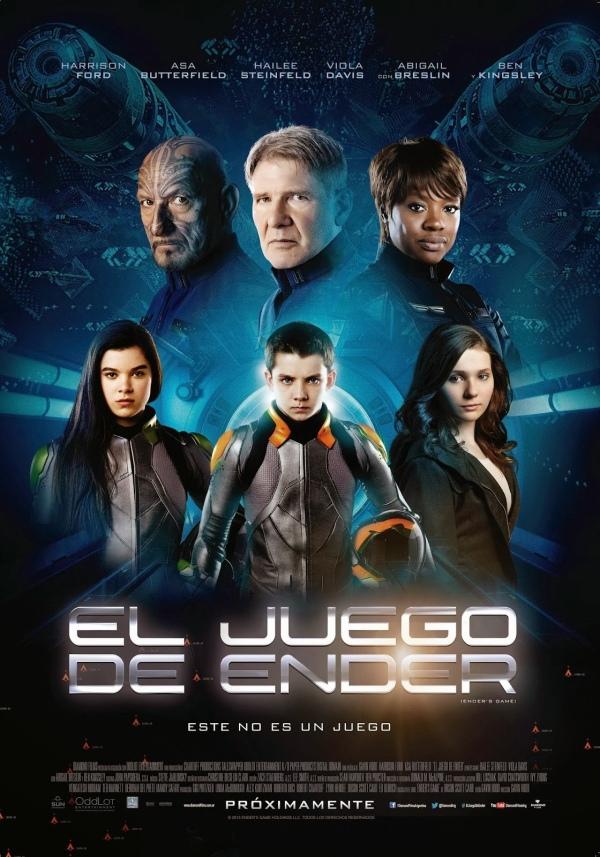 Imatge del cartell de la pel·lícula Juego de Ender