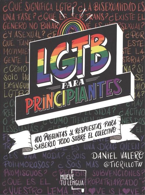 Imatge de la portada del llibre LGTBI para principiantes