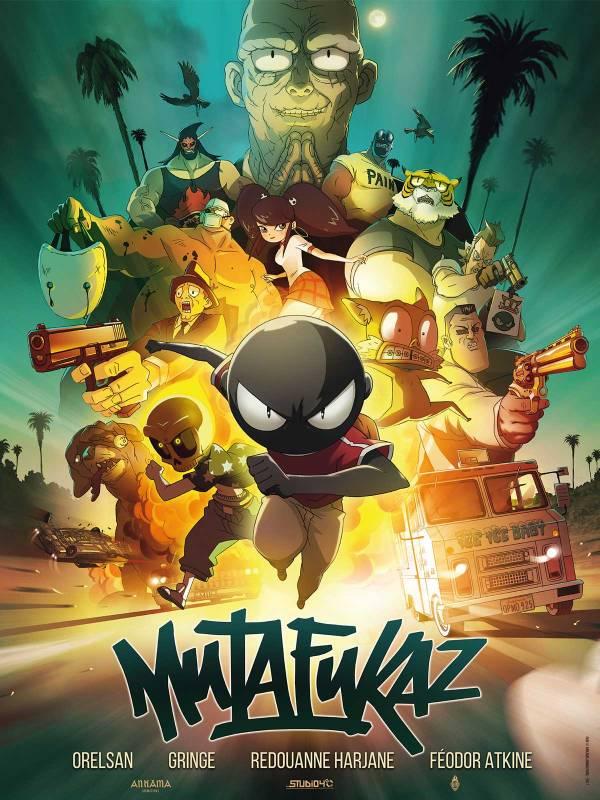 Imatge del cartell de la pel·lícula Mutafukaz