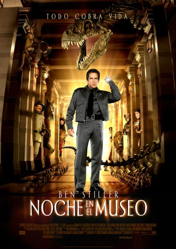 Imatge del cartell de la pel·lícula Noche en el museo