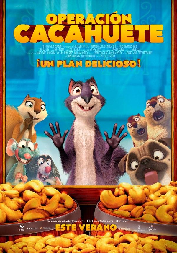 Imatge del cartell de la pel·lícula Operación cacahuete