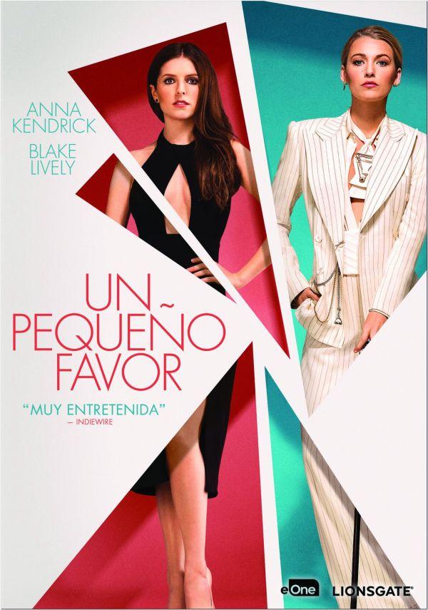 Imatge del cartell de la pel·lícula Un pequeño favor