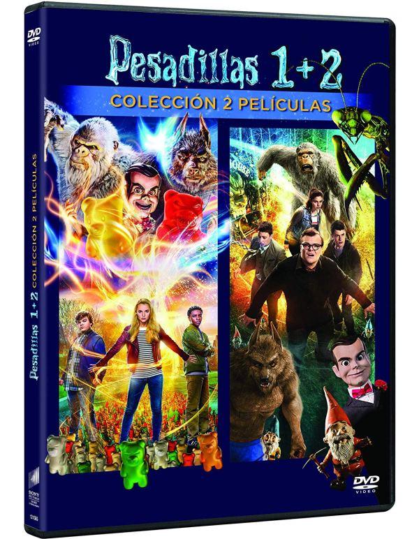 Imatge del cartell de la pel·lícula Pesadillas 1+2
