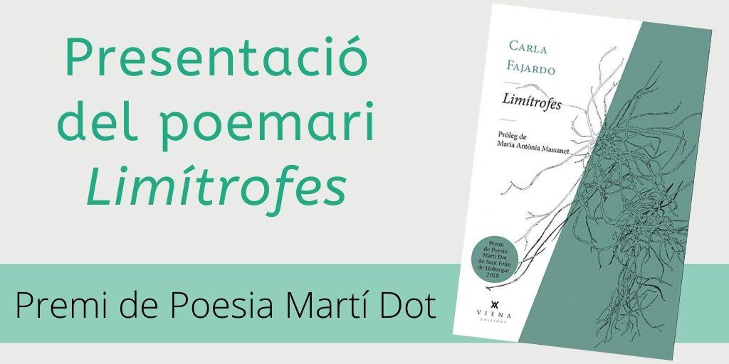 Imatge de l'activitat presentació del poemari Limítrofes