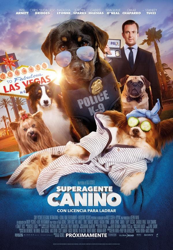 Imatge del cartell de la pel·lícula Superagente canino