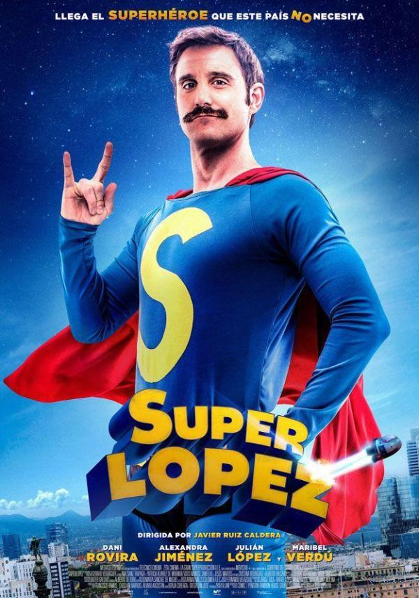 Imatge del cartell de la pel·lícula Super López